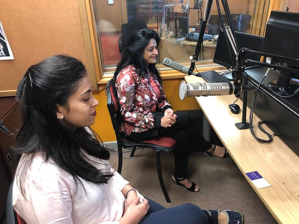 Dr. Nayana Patel did a live interview by the famous RJ KAMAL KAUR on the PRIME HOUR breakfast show on 106.3 EAST FM on Saturday, 23 Feb 2019 in Nairobi on the topic : Infertility and Aesthetic Gynaecology!!